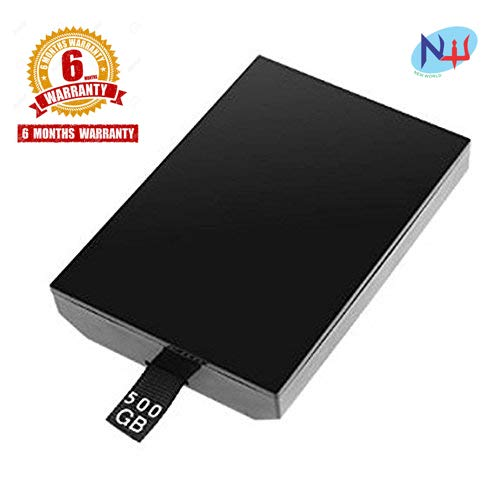 New World 500 GB Slim HDD Hard Disk Drive for MIcrosoft Xbox 360 Slim & E Model