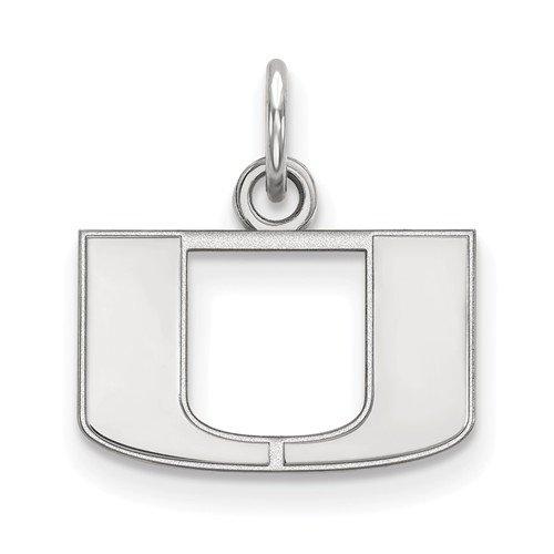 Sterling Silver LogoArt Montana State University XS Pendant