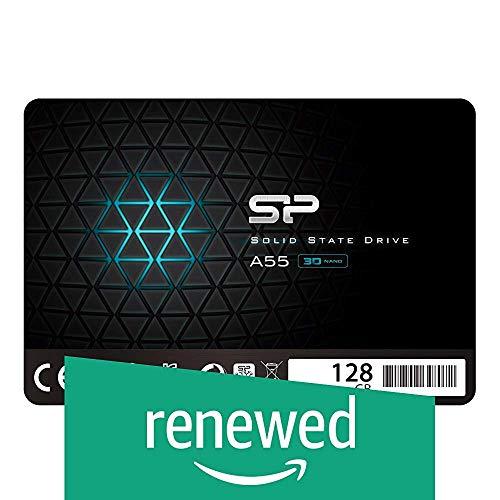 (Renewed) Silicon Power A55 128GB SATA3 SSD (SP128GBSS3A55S25)