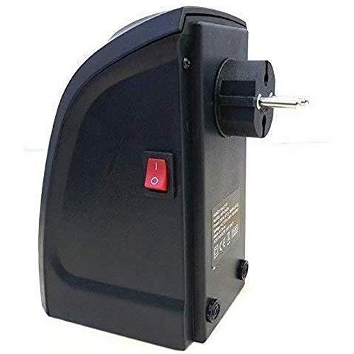Jaydev Enterprise Abs Plastic Electric Handy Room Heater Compact Plug-in (Black) Jaydev-137
