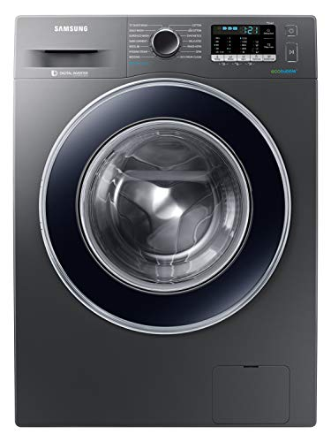Samsung 8.0 Kg Inverter Fully-Automatic Front Loading Washing Machine (WW81J54E0BX/TL, White, Hygiene steam)