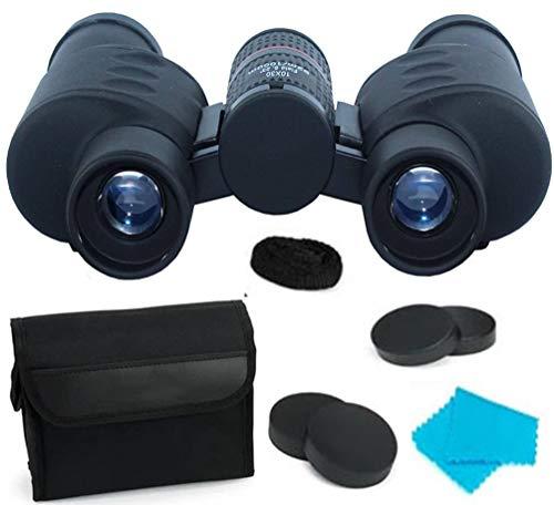 Rockfieln zoomable Foldable Power Scope high for Bird Watching Trip Concert Wide Angle 92M/1000M Binoculars,Binoculars Monocular 10x30 Telescope Sports Hunting Camping Survival Kit