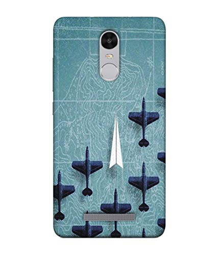 S SMARTY Designer Printed Plastic Mobile Back Case Cover for Redmi Note 3 (Small Arrow)