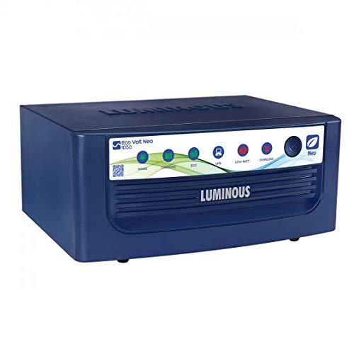 Luminous Eco Volt Neo 1050 Pure Sinewave Home UPS with LED Display, 900VA, Blue