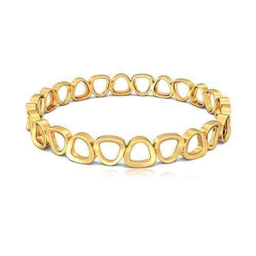 Melorra 18Ct Pebble Perfect Gold Bangles