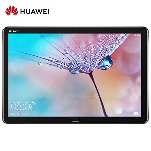 "Huawei MediaPad M5 Lite Tablet with 10.1"" FHD Display, Octa Core, Quick Charge, Quad Harman Kardon-Tuned Speakers, WiFi Only, 4GB+64GB, Deep Gray"