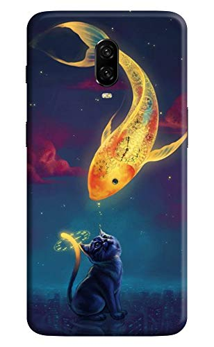 OLYKUN® Designer Printed Mobile Back Cover for OnePlus 6T