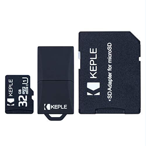 32GB microSD Memory Card by Keple for Samsung Galaxy s9+ S9 S8 S7 S6 S5 S4 S3, J9 J8 J7 J6 J5 J3 J2 J1, A9 A8 A7 A6 A6+A5 A4 A3, Note 9 8 7 6 5 4 3 2, Grand Prime, Pro, Edge | Micro SD 32 GB