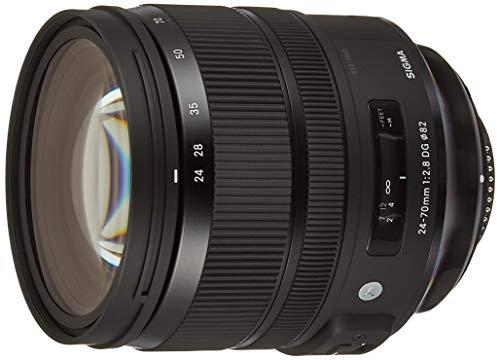 Sigma 24-70mm f/2.8 DG OS HSM Art Lens for Nikon DSLR Camera-Black
