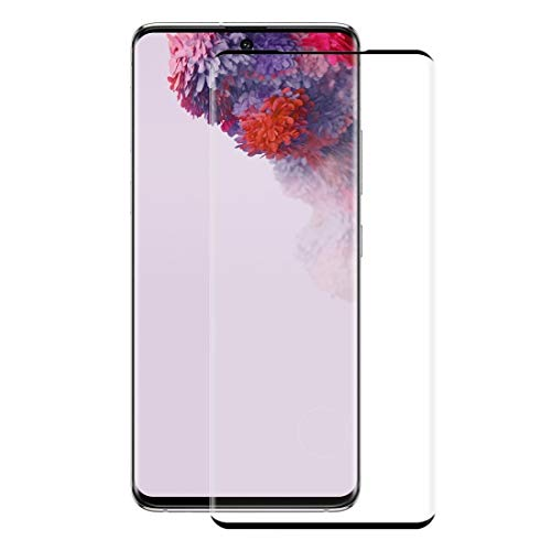 LIDGRHJTHTGRSS Mobile Phone Accessories Screen Protectors for Galaxy S20+ Hat-Prince 0.26mm 9H 3D Explosion-Proof Full Screen Curved Heat Bending Tempered Glass Film