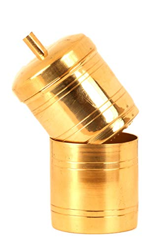 Haristore Brass Traditional Coffee Filter (Golden)