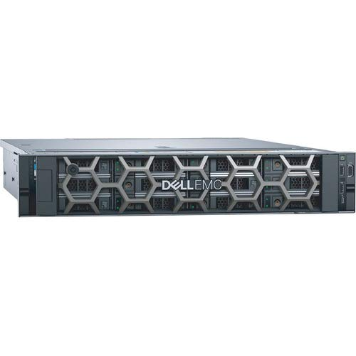 """Dell PowerEdge R540 Rack Server, Intel Xeon 5218 (2nd Gen, 16Core) Processor with 32GB RAM & 2 X 1.2TB 10K RPM SAS Hard Disk with 3.5"""" Carrier, 3 Years Warranty by Dell."""