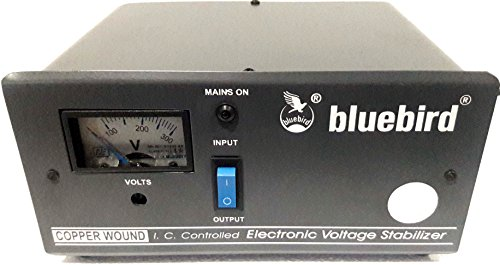 bluebird 1 KVA 170-270V Voltage Stabilizer Copper Wounded for Refrigerator/Washing Machine (Blue and White)