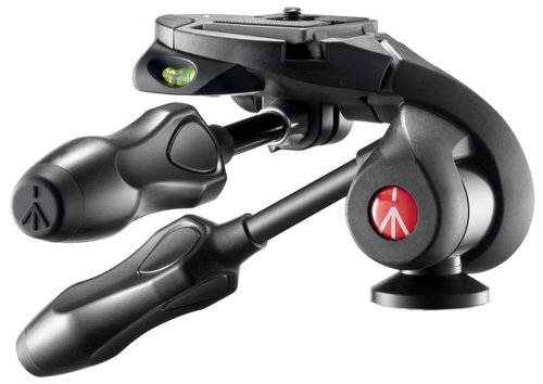 Manfrotto MH293D3-Q2 290 Series 3-Way Photo Head with Compact Foldable Handles (Black)