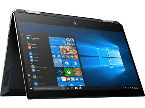 HP Spectre x360 13-ap0121TU 2019 13.3-inch Full HD Laptop (8th Gen Intel Core i5-8265U/8GB/256GB SSD/Win 10 Pro/MS Office/Intel UHD Graphics 620), Poseidon Blue