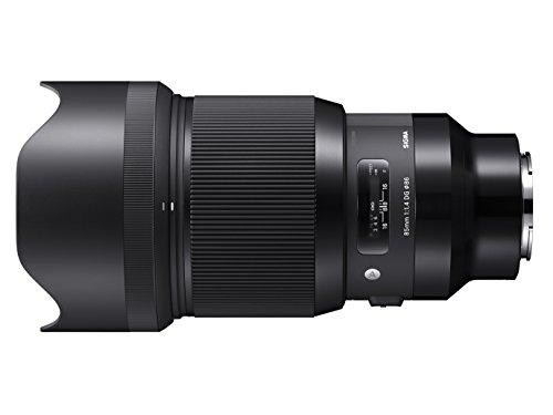Sigma 85mm F/1.4 DG HSM Art Lens for Sony E-Mount Cameras (Black) (321965)