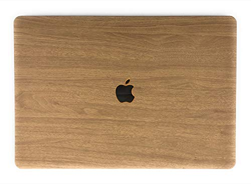 """24x7 eMall Rubberized Hard Shell Cover Wood Design Compatible Newest MacBook Pro 13"""" (2016-2020 Release) with/Without Touch Bar (13 Inch Pro, Maple Light Wood) Compatible with M1"""