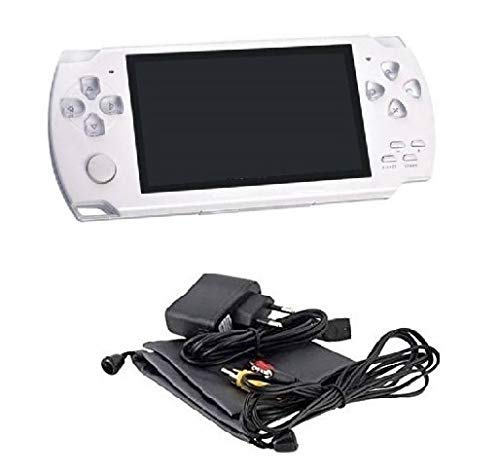 Medaline White PSP gaming console with Music, Alarm, videos MD_035