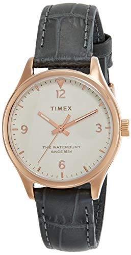 Timex Waterbury Analog Off-White Dial Women's Watch-TW2R69600
