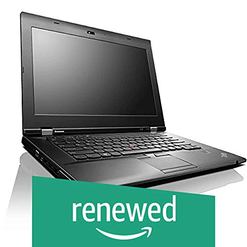(Renewed) Lenovo ThinkPad L430 14-inch Laptop (3rd Gen Intel Core i5/8GB/320GB/Windows 10/1.792 Graphics), Black