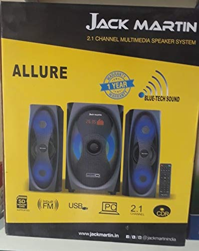 Jack Martin Allure 2.1 Bluetooth/SD Card/Pendrive Home Theatre System with Built in FM Radio