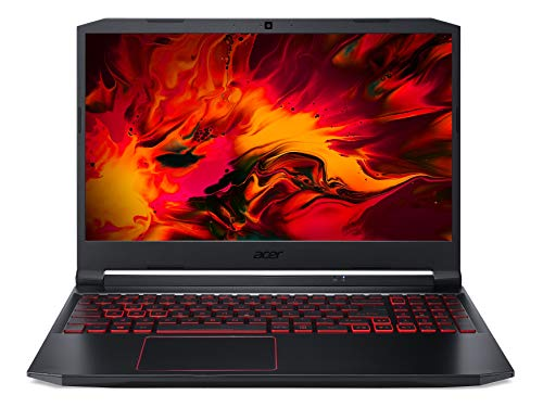 Acer Nitro 5 Intel Core i5-10300H 15.6-inch Full HD IPS 1920 x 1080 144Hz Display Gaming Notebook (8GB Ram/1TB HDD + 256GB SSD/Windows 10 Home/GTX 1650Ti Graphics/Obsidian Black/2.3 kgs), AN515-55