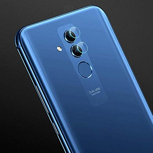 LIUDSBFQINGR Cell Phone Camera Screen Protector 0.3mm 2.5D Transparent Rear Camera Lens Protector Tempered Glass Film for Huawei Mate 20 Lite