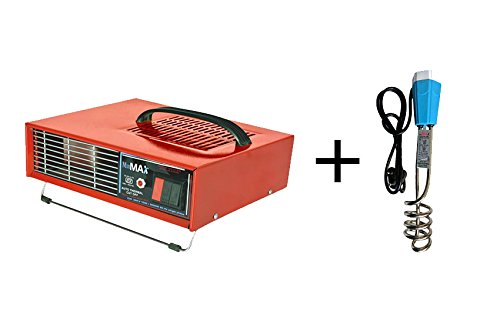 MinMax 2000 kw Hot Blower Heat Convector with 2KW Shock Proof Immersion Rod