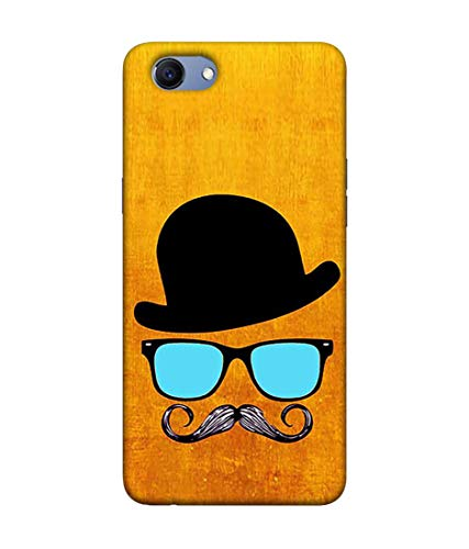 S SMARTY Cool Dude Printed Hard Case Mobile Back Cover for Realme 1