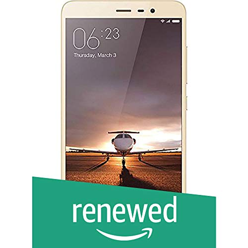 Xiaomi (Renewed) Redmi Note 3 (Gold, 16GB)