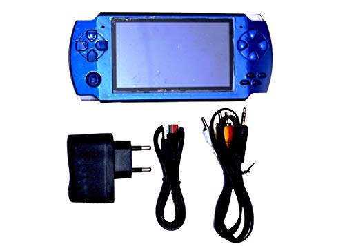 NEXTTECH Kay-Joy PSP 2021 MP4 Player with Built-in 8GB Memory with Many Games (Blue)