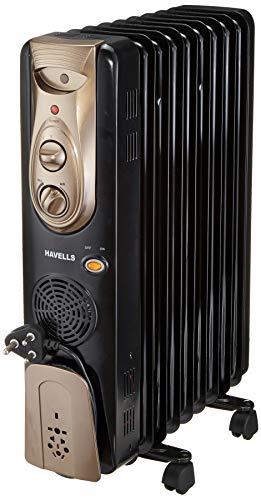 Havells OFR - 9Fin 2400-Watt PTC Fan Heater (Black)