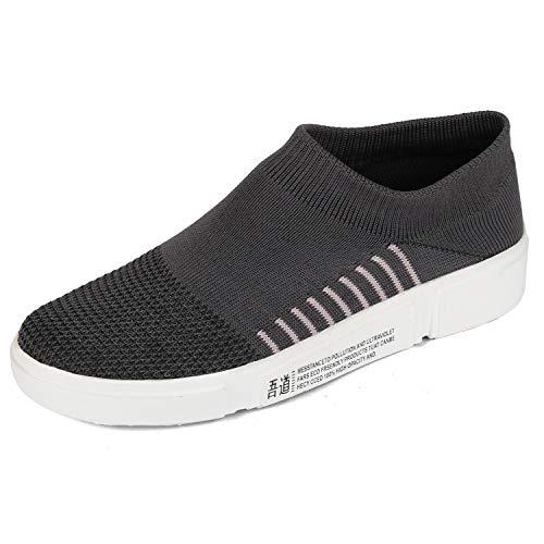 FASHIMO Women's Walking Shoes sportR07-darkgrey-40