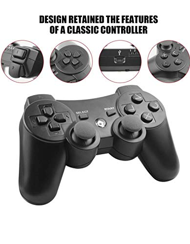 Moosa Games PS3 Compatible Contoller for PS3 Fat / PS3 Slim / PS3 Super Slim - Premium Edition for Great Indian Festival Sale