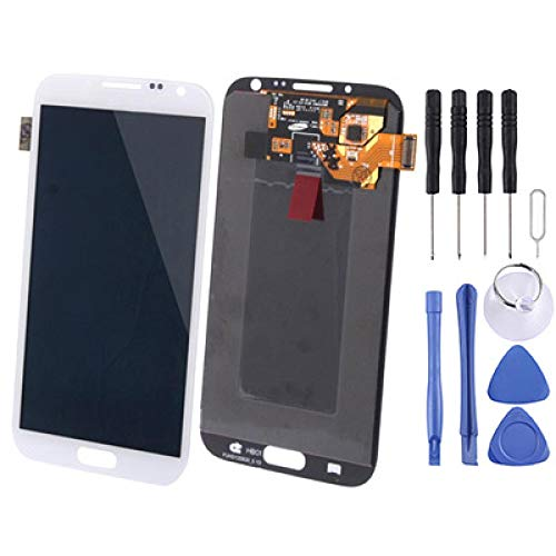 MEOYZVSFRGTH Mobile Phone Replacement LCD Screen Original LCD Display + Touch Panel for Galaxy Note II / N7100 New