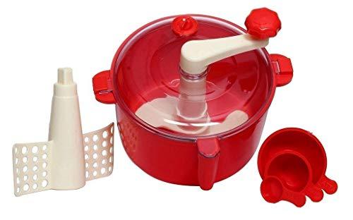 Glamaxy Set Combo of Gambit Atta Dough Maker Machine Food Processors Kitchen Tools - Multicolor