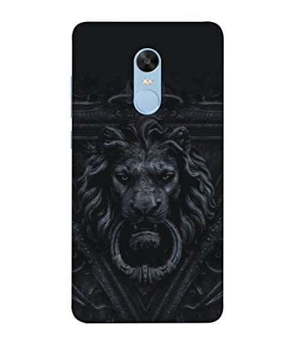S SMARTY Designer Printed Plastic Mobile Back Case Cover for Redmi Note 4 (Black Art)