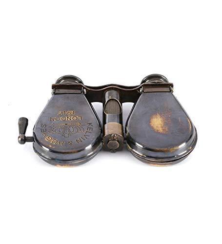 S.F International Brass Antique 1917 Brass Traveling Telescope Binoculars Monocular