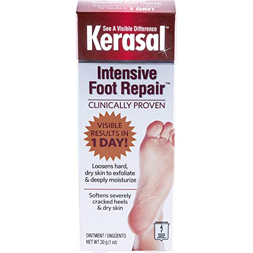 Kerasal Exfoliating Moisturizing Foot Ointment 1 oz Tube QTY: 1