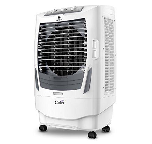 Havells Celia Desert Air Cooler - 55 Litres (White, Grey)