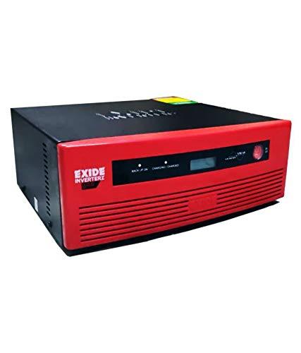 Exide GQP 1050VA Pure Sinewave Home UPS with Digital Display, 1050VA, Red