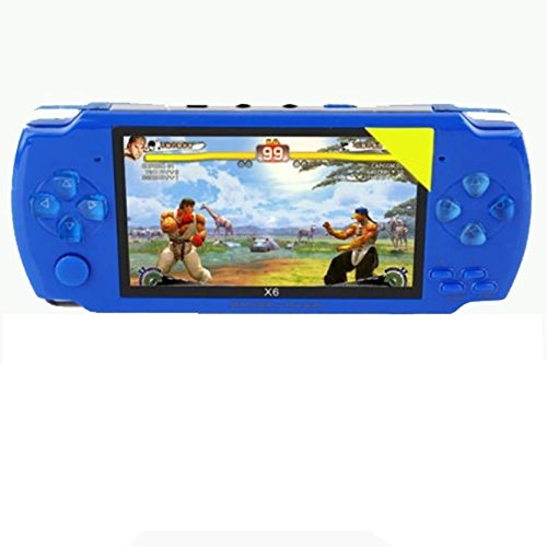 PSP Game kart Psp GameKart SGBP-8 GB with 10000 Games  (Blue)