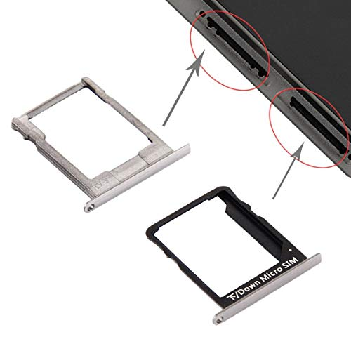 ZCLINXHEFSDSS Mobile Phone Replacement Parts for Huawei P8 Lite SIM Card Tray and Micro SD Card Tray Card Tray