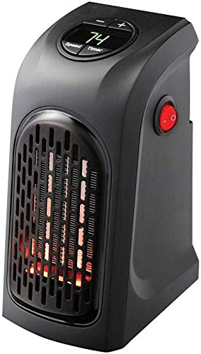kantareshwer enterprise 400W Wall-Outlet Electric Heater Handy Heater for Dens, Reading nooks, Work, bathrooms, Dorm Rooms, Offices, Home Offices, Campers, Work Spaces, Benches, basements_24(Remote Controller)