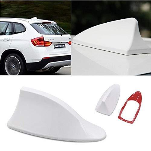 Trest Car Shark Fin Roof Antenna Car Antenna Radio FM/AM Car Accessories Decorate White for Fiat Linea Classic