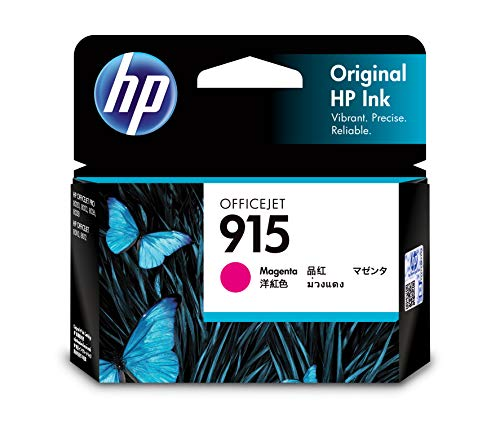 HP 915 Magenta Ink Cartridge.