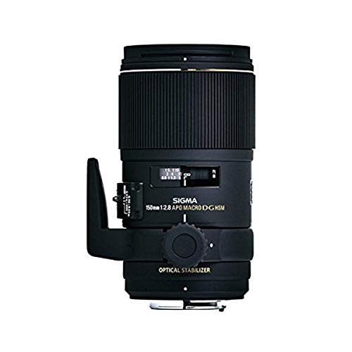 Sigma 150 mm F/2.8 APO Macro EX DG OS HSM Prime Lens with 72 mm Filter Thread for Sigma