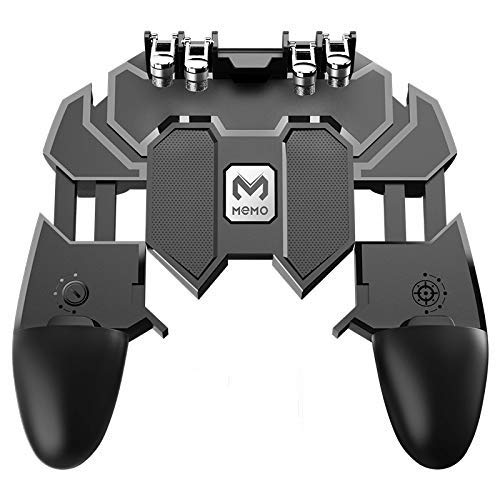 ICALL AK66 six-Finger Gamepad L2R2 Trigger for pubg Mobile Game Handle Gaming Trigger Sensitive Shoot and Aim for pubg