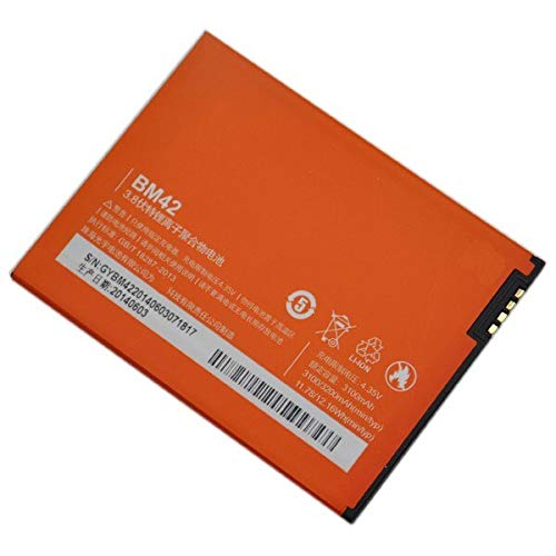 NMRA Enterprises National Mobile Related Accessories NMRA Mobile Battery Compatible for Xiaomi Redmi Mi Note Note 4G