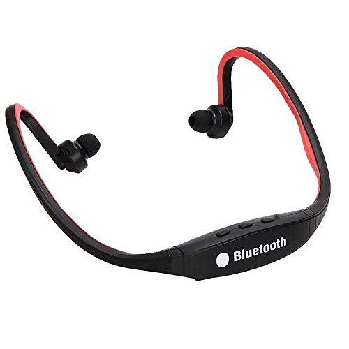 Raptas(Pack of 2) BS19C Sports Music Headphone Bluetooth Headset TF Slot FM Radio Driving Running